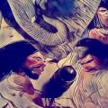 Confraternidad...(Collage mixto)