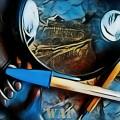 El pasado Azul... (Collage)
