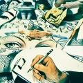 Musas mensajeras... (Collage)