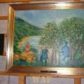 Rio Douro _ Lagoaça, incluído na exposição PINCELADAS POÉTICAS de Teresa Almeida