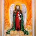 Angel with a lily –  Elisabetta Errani Emaldi's painting