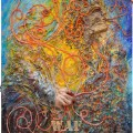 'Pai' 2011 (100x80 cm) Obra da 3ª fase 'Vida' in «Etérium - a Viagem»