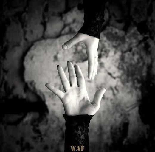 Os dedos do destino na nossa mão ...
