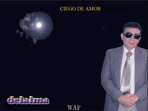 CIEGO DE AMOR