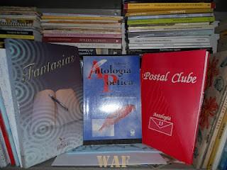 ANTOLOGIA POETICA  2 * UFF/EDUFF( Universidade Federal Fluminense/ Editora da Uff ) 1996, Niterói - Rj; minha primeira presença em Livro Oficial.