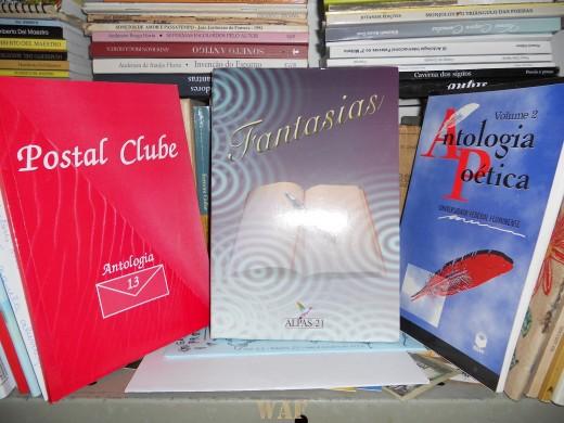 Coletânea FANTASIAS, Edicao ALPAS21/EDITORA ALTERNATIVA, 2011, Direcao Roselia Scheifler Razia/Alba Pires Ferreira/Ilda Maria Costa Brasil, Porto Alegre - Rs.