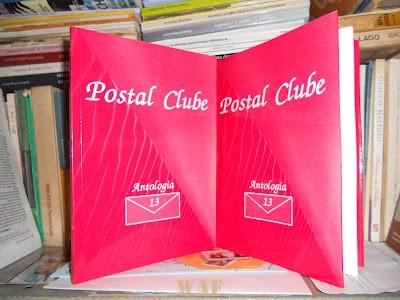 Coletânea ANTOLOGIA 13 POSTAL CLUBE, Edicao POSTAL CLUBE 2011, Direcao Araci Barreto, de Itaboraí - Rj