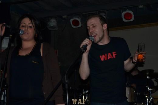 Ex-Ricardo e Raquel Fontes ao vivo