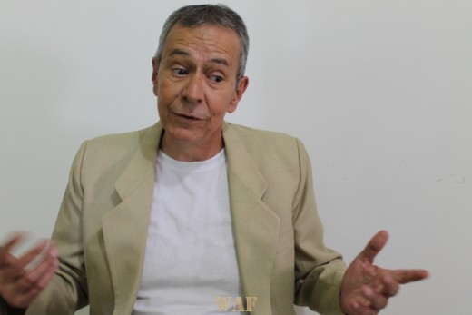 O autor em Palestra na cidade São Paulo, Brasil.