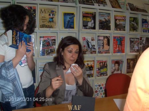 Fotos de lançamento do livro Comichão no Espirito