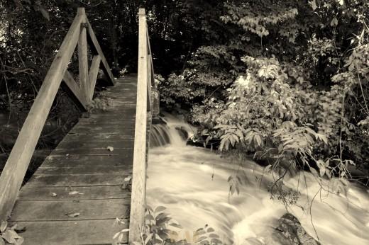 Caminho sobre águas !!!