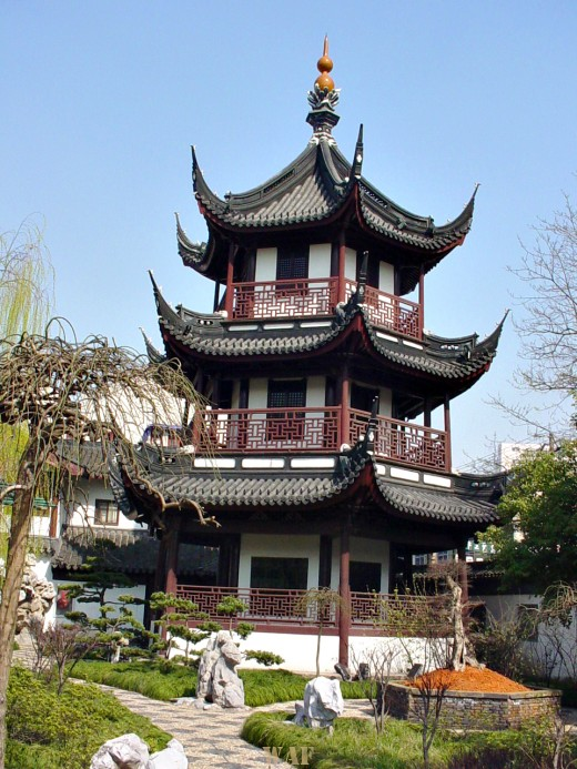 a Confucius Temple building