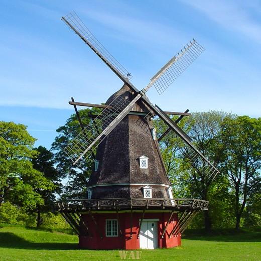 a Windmill in Copenhagen