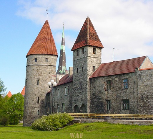 beautiful building in Estonia (in Tallinn, the Capitol)