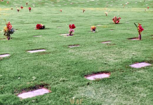 The National Memorial Cemetery (Punchbowl Memorial, Oahu, HI)