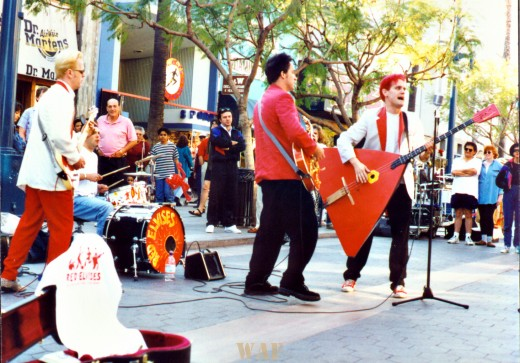 a Los Angeles street band