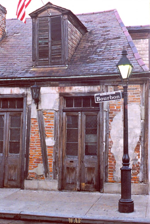 Bourbon Street, New Orleans LA