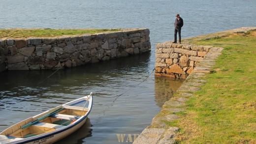 """""""o homem e o barco"""""""