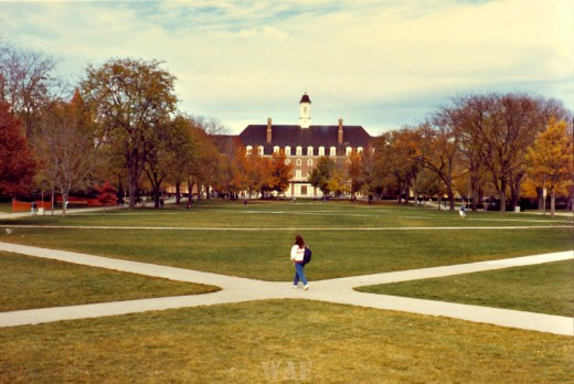 the Quad (University of Illinois, Urbana IL)