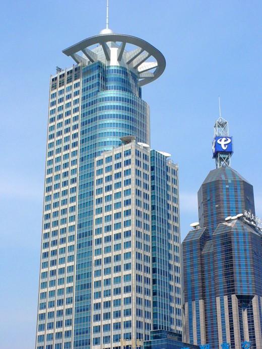 Shanghai (China) buildings (2)