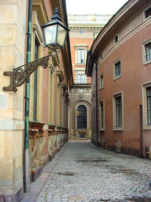 a street in Stockholm, Sweden