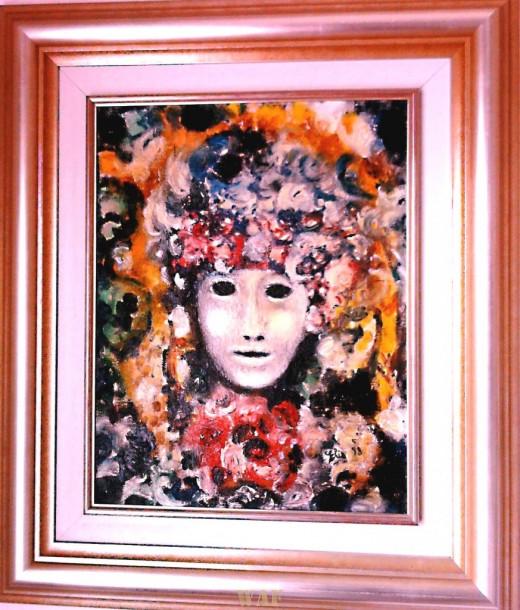 Elisabetta Errani Emaldi's work of art - Spring Mask